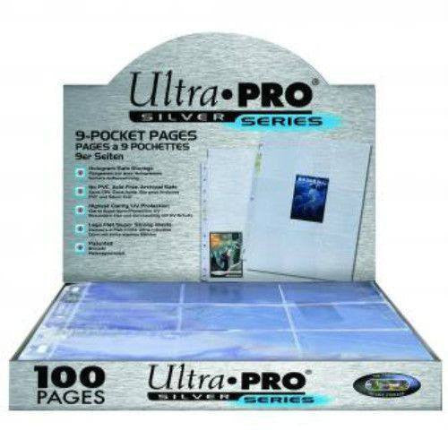 Ultra Pro Silver Series 9-Pocket Pages (100)