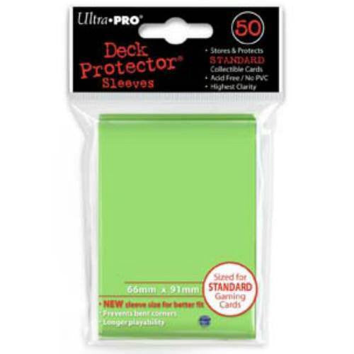 Ultra Pro Standard Deck Protectors (50 Lime Green)