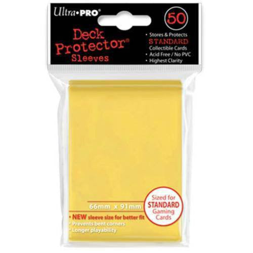 Ultra Pro Standard Deck Protectors (50 Yellow)
