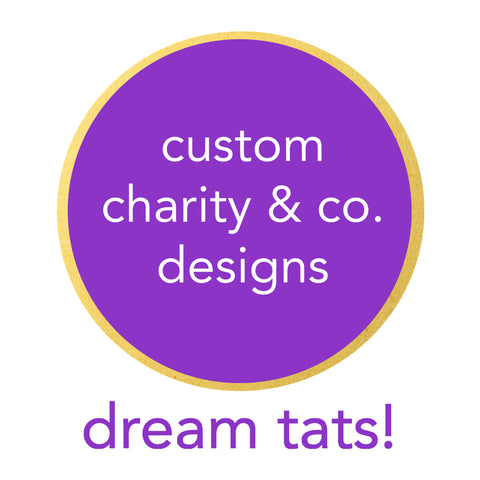 charity designs lustria gold flash tattoo jewelry