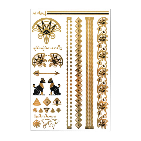 Queen of the Nile - 2 Sheets - Lustria Tats