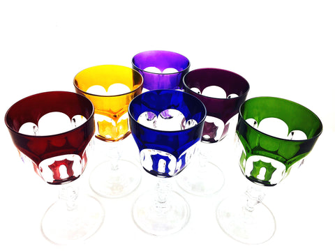 OFFRE EXCLUSIVE INTERNET: Service Royal Color 6 verres à vin.