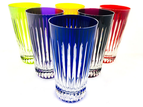 OFFRE EXCLUSIVE INTERNET: Service Concorde Color 6 verres long drink.