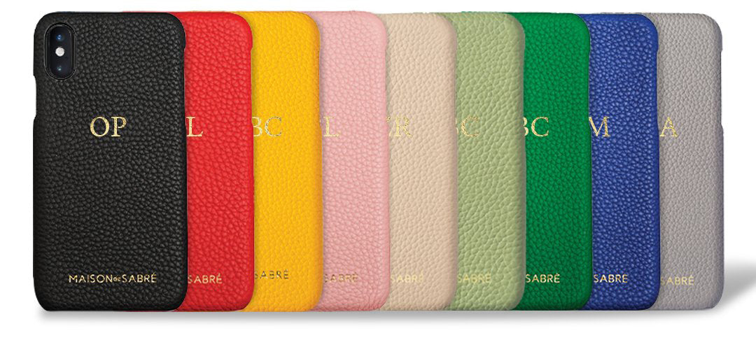 Choose your leather iPhone phone case or Samsung cell phone cover