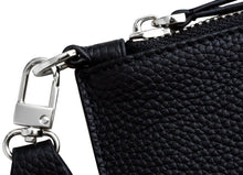 Black Caviar Clutch / Silver