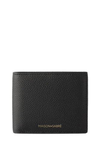 Black Caviar Slim Bifold Wallet