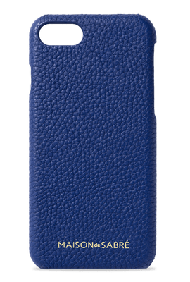 iphone 7/8 phone case- blue- front