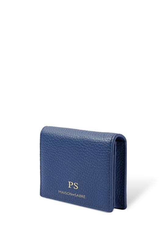 Lapis Blue Business Card Case