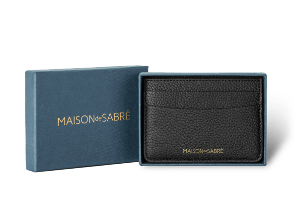 Black Caviar Credit Card Holder