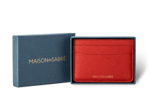 Pomegranate Red Credit Card Holder