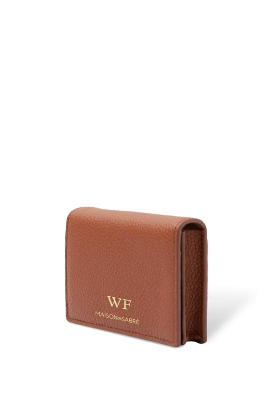 Walnut Brown Business Card Case