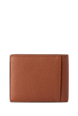 Walnut Brown Slim Bifold Wallet