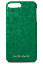 iphone 7/8 plus phone case- green- front