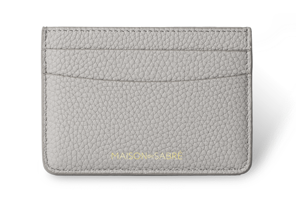 Mercury Grey Card Holder