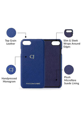 iphone 7/8 phone case- blue- product features