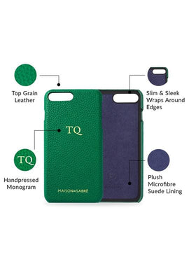 iphone 7/8 plus phone case- green- product features