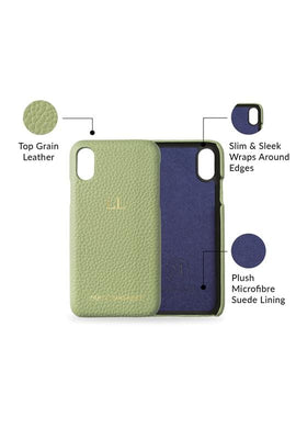 iphone x/xs phone case- matcha- product features