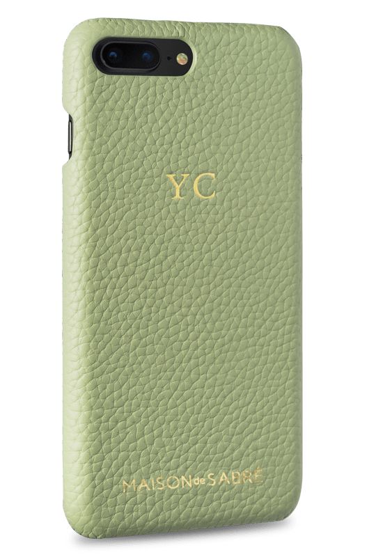 iphone 7/8 plus phone case- matcha- perspective