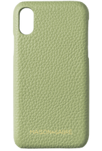iphone x/xs phone case- matcha- front