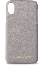 iphone xs max phone case- grey- front
