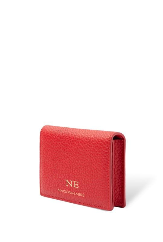 Pomegranate Red Business Card Case