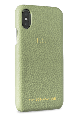 iphone x/xs phone case- matcha- perspective