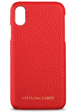 iPhone X/XS Pomegranate Red