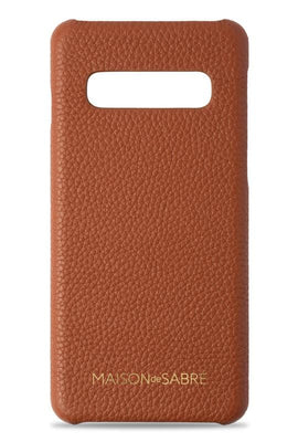 samsung s10 phone case- brown- front