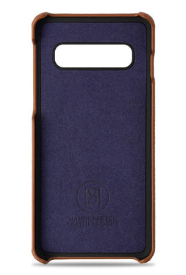 samsung s10 phone case- brown- inside