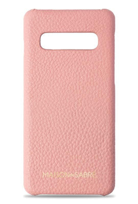 samsung s10 phone case- pink- front