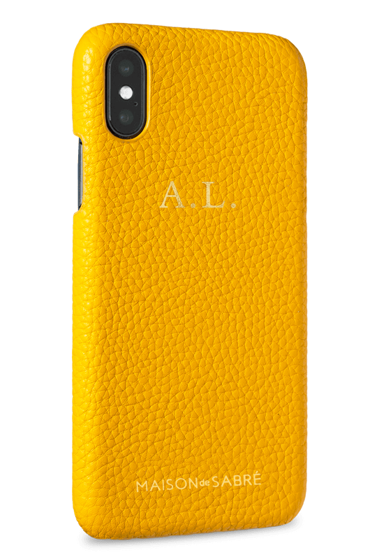 iPhone X/XS Canary Yellow