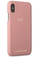 iphone xs max phone case- pink- perspective
