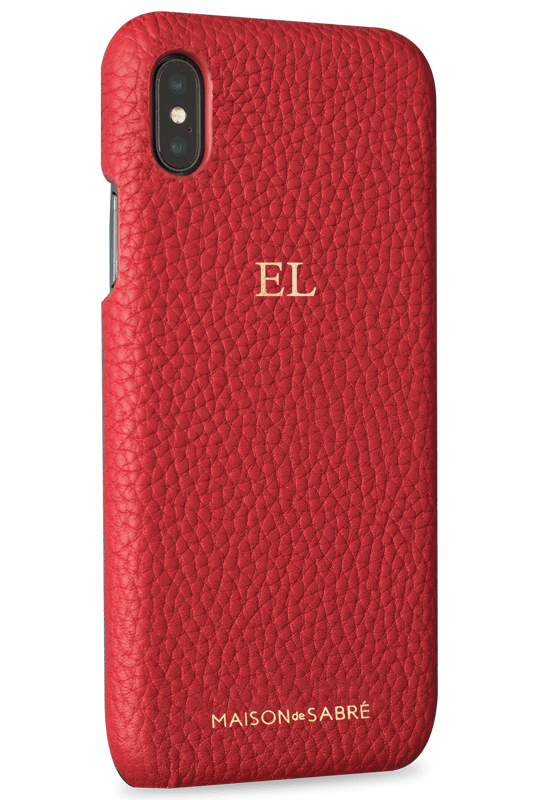 iPhone XS Max Pomegranate Red