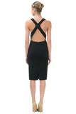 Mora Open Back Dress - Eighty7 Boulevard