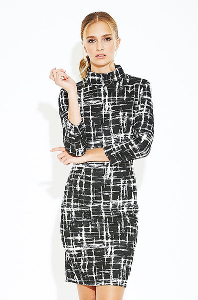 Hideaway Turtleneck Dress - Eighty7 Boulevard