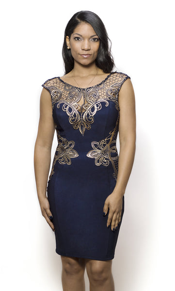 Lipsy London Royal in Blue - Eighty7 Boulevard