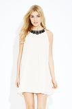 Cream Moonlight Dress - Eighty7 Boulevard