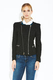 Black Night Style Jacket - Eighty7 Boulevard