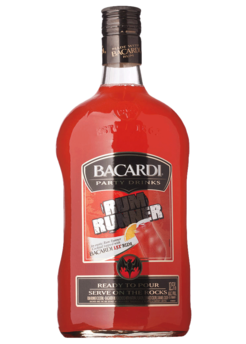 Bacardi Party Drinks Rum Runner