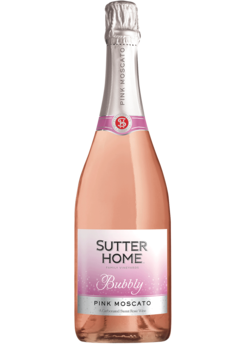Sutter Home Pink Moscato Bubbly Sparkling Wine