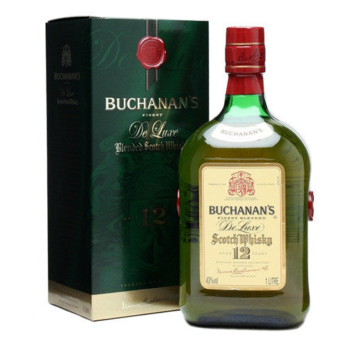 Buchanan's De Luxe Blended Scotch Whisky 12 year old