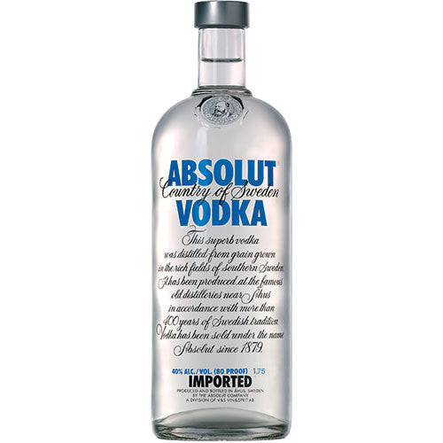 Absolut 80 Proof Vodka