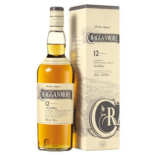 Cragganmore Speyside Single Malt Scotch Whisky 12 Year Old