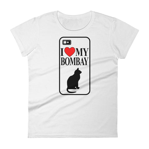 I Love My Bombay Women's short sleeve t-shirt