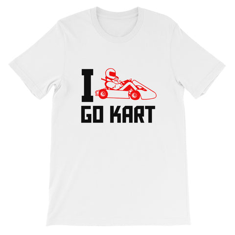 I Love Go Kart Short-Sleeve Unisex T-Shirt