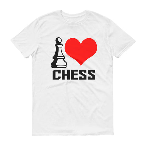 I Love Chess Short-Sleeve T-Shirt