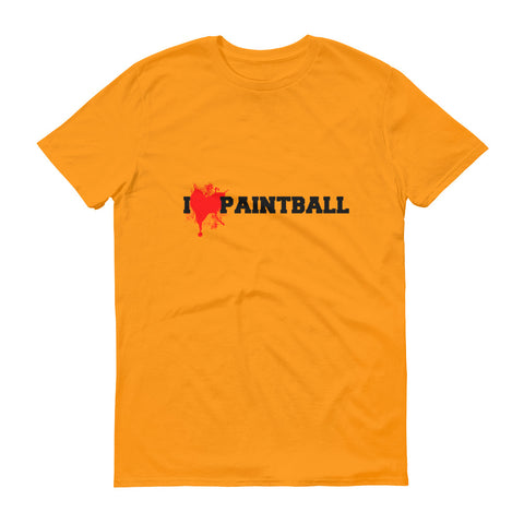 I Love Paintball Short-Sleeve T-Shirt