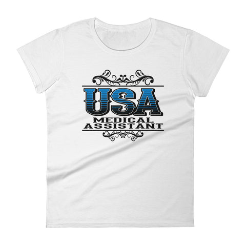 USA Medical Assistant Women's short sleeve t-shirt