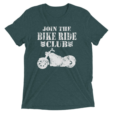 Join the Bike Ride Club Short sleeve t-shirt