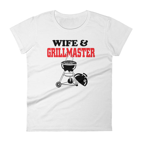 Wife & Grill Master Women's short sleeve t-shirt
